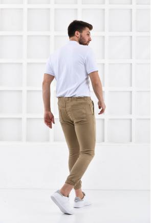 Taş Erkek Süper Skiny Bel ve Paça Lastikli Jogger Pantolon F321574
