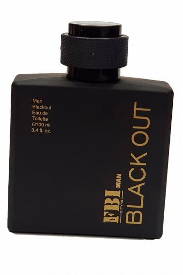 FBI Erkek Parfüm 100 ml Black Out P8904 Black