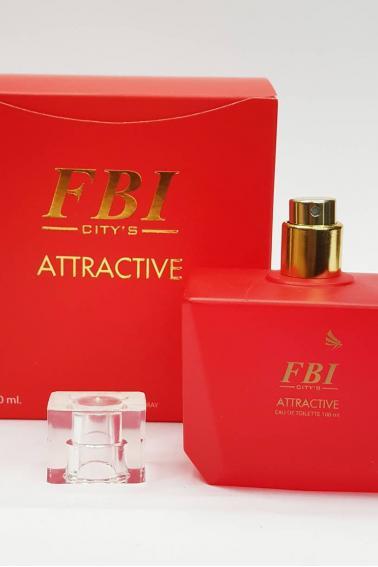 FBI Kadın Parfüm 100 ml Attractive P8908 Red