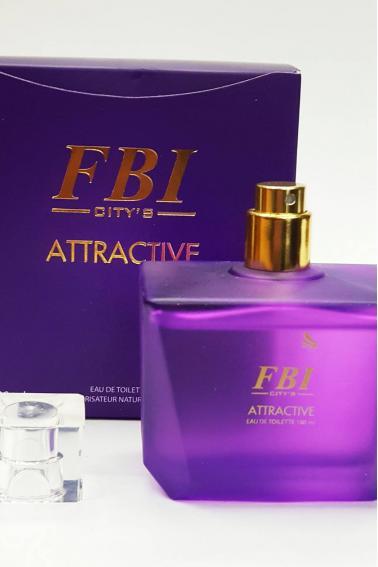 FBI Kadın Parfüm 100 ml Attractive P8908 Purple