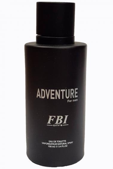 FBI Erkek Parfüm 100 ml Adventure P8906 Black