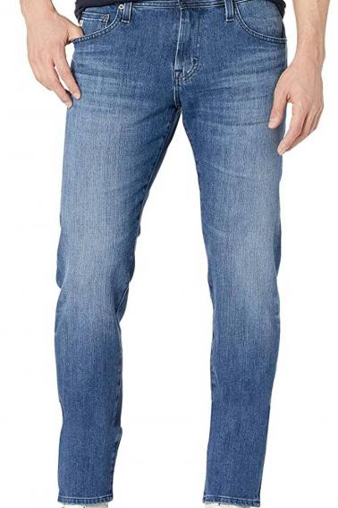 Erkek Mavi Battal Boy Jeans Modern Kesim Fermuarlı Kot Pantolon BL7465-522