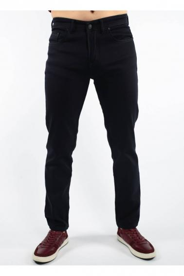 Lacivert Erkek Jean Slim Fit Dar Kesim Likralı Kot Pantolon F803